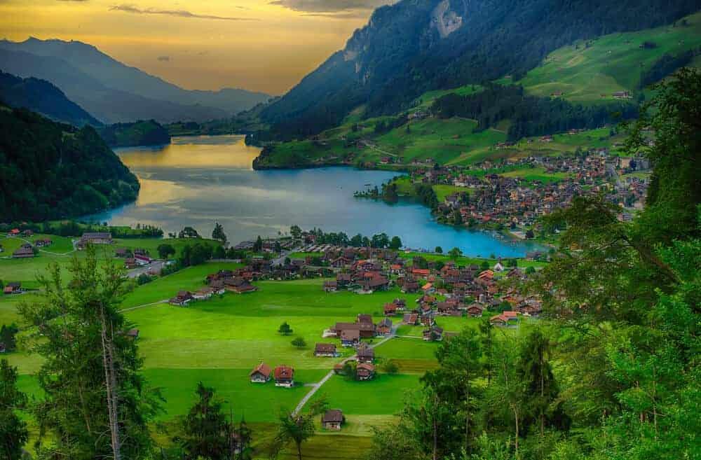 Wengen, Switzerland for tourism