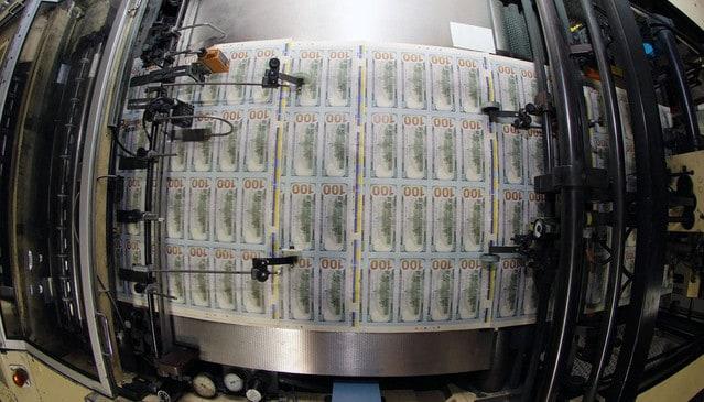 printing money to tackle deflation